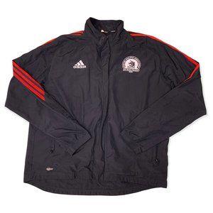 Adidas Boston Marathon 2006 Windbreaker Jacket Black ClimaProof Zip Mens Size XL